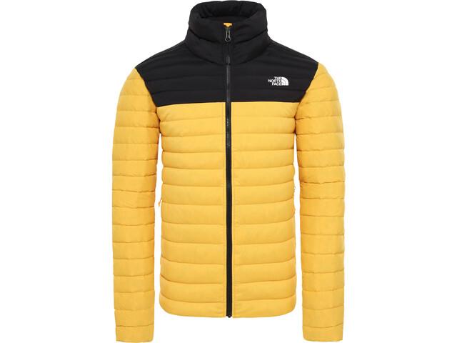 The North Face Stretch Manteau en duvet Homme, tnf yellow/tnf black